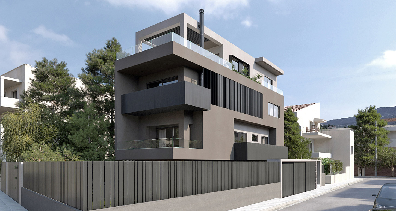 Block of flats at Psychiko