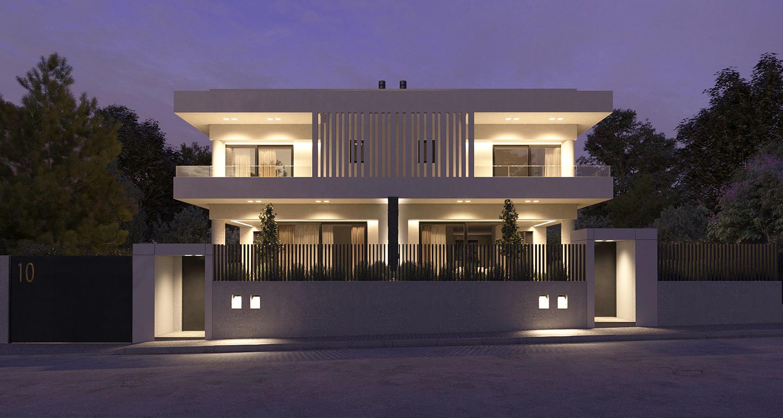 Δίδυμες κατοικίες στα Μελίσσια