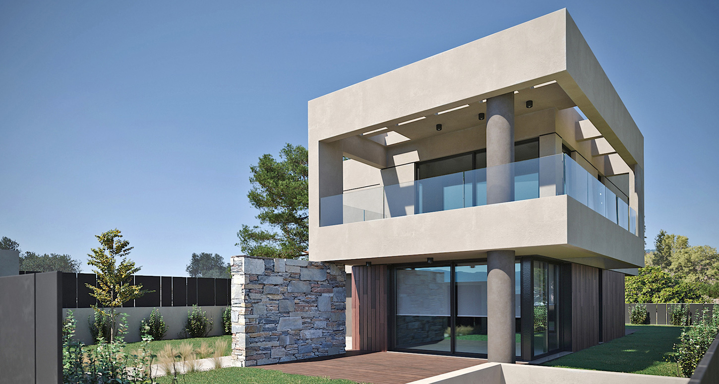 Private residence at Melissia