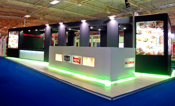 Exhibition stand at IFDTEX 2011