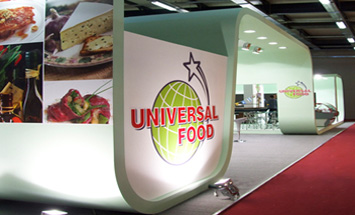 Exhibition stand at IFDTEX 2008
