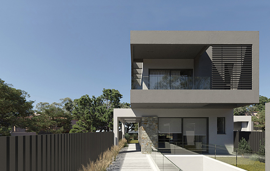 LKMK Architects-Private residence at Gerakas