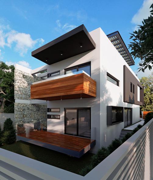 LKMK Architects-Μονοκατοικία στα Μελίσσια