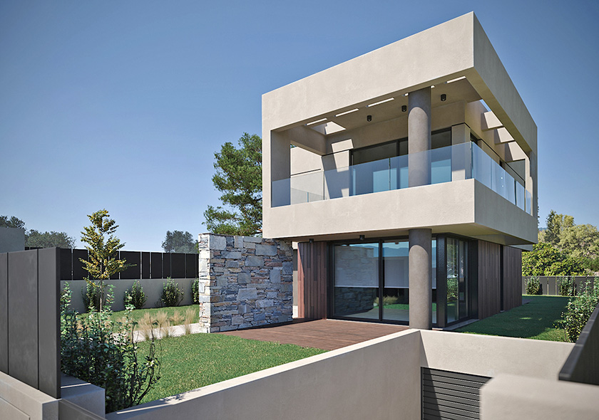 LKMK Architects-Private residence at Melissia