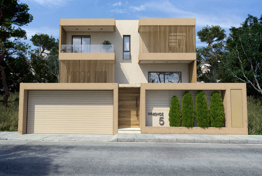 LKMK Architects-Μονοκατοικία στην Παιανία