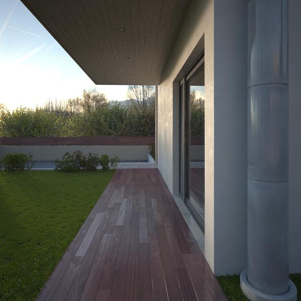 LKMK Architects-Μονοκατοικία στους Θρακομακεδόνες