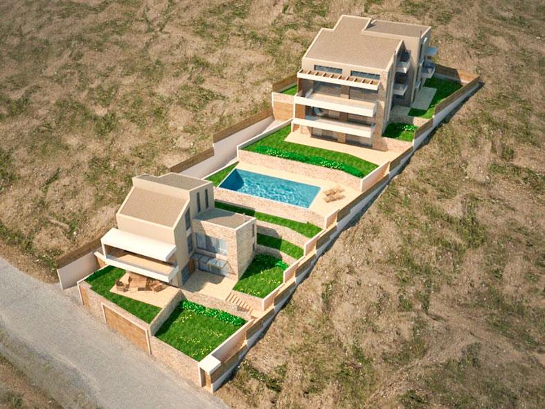 LKMK Architects-Συγκρότημα κατοικιών στο Ν.Βουτζά