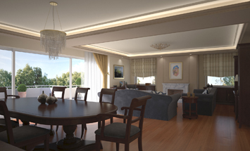Apartment at Palaio Faliro (Interior Design)