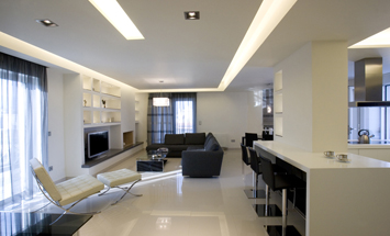 Apartment at Ilion (interior design)