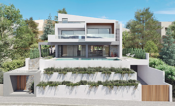 Private residence at Nea Penteli